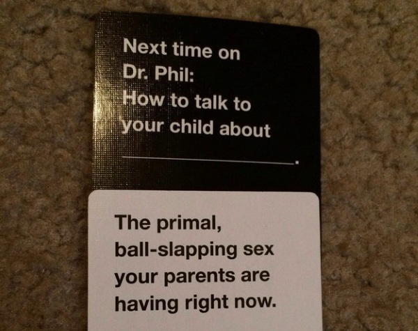 Funny Cards Against Humanity Meme : Put me like · cards against humanity has said if trump goes low